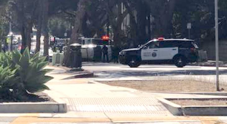 Vehicle Collision Near Santa Barbara High title=