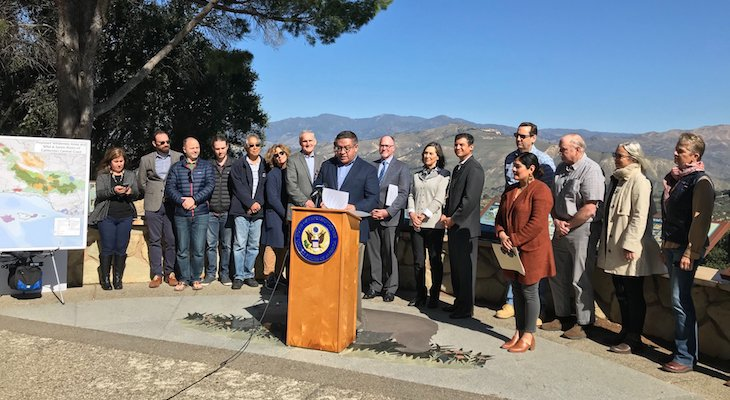 Local Officials Celebrate Passage of Land Protection Bill