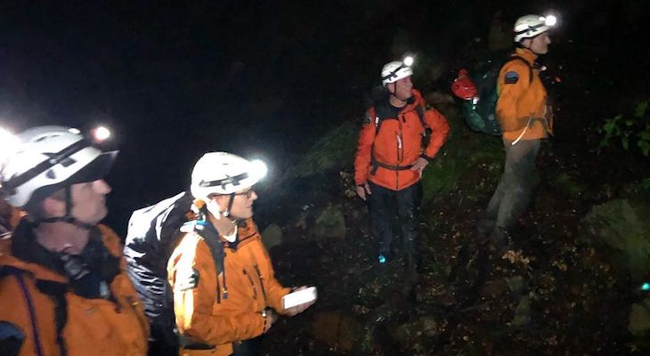 Lost Hikers Rescued Near Mission Creek
