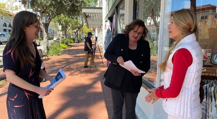 Santa Barbara Mayor Meets with Business Owners During COVID-19 Crisis title=