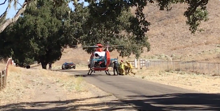 Man Run Over by Own Vehicle in Santa Ynez