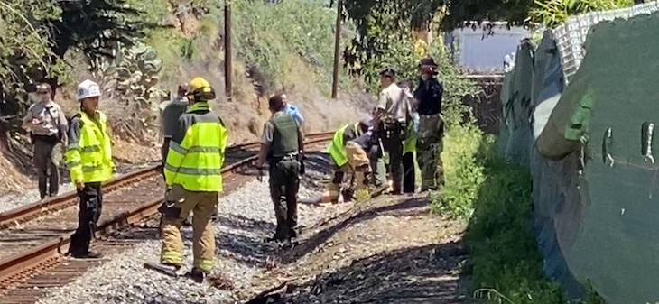 Pedestrian Struck and Killed by Train title=