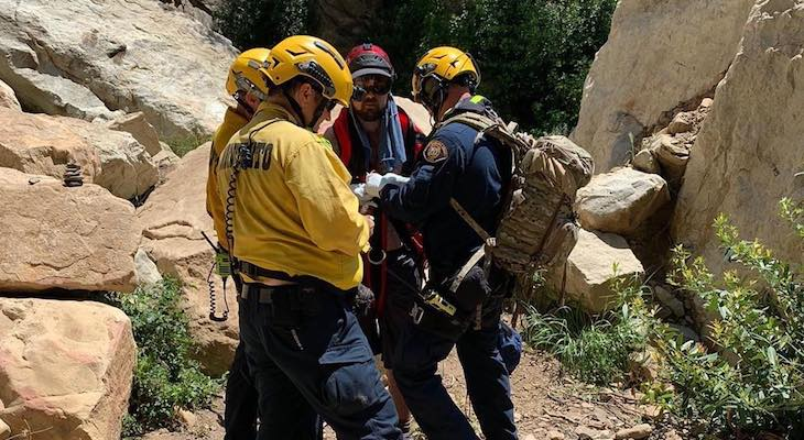 Two Separate Hiker Rescues at Tangerine Falls title=