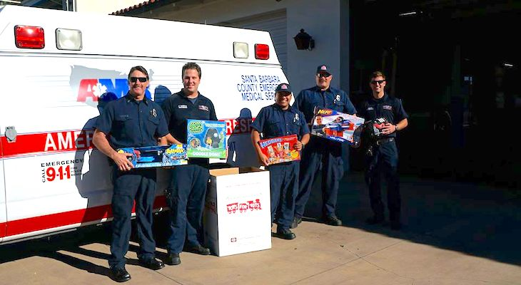 Fire Stations Now Accepting Toys for Tots title=