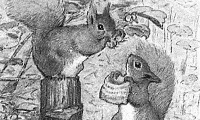 Way Back When: Squirrel Love