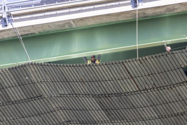 Cold Spring Bridge Construction Photos