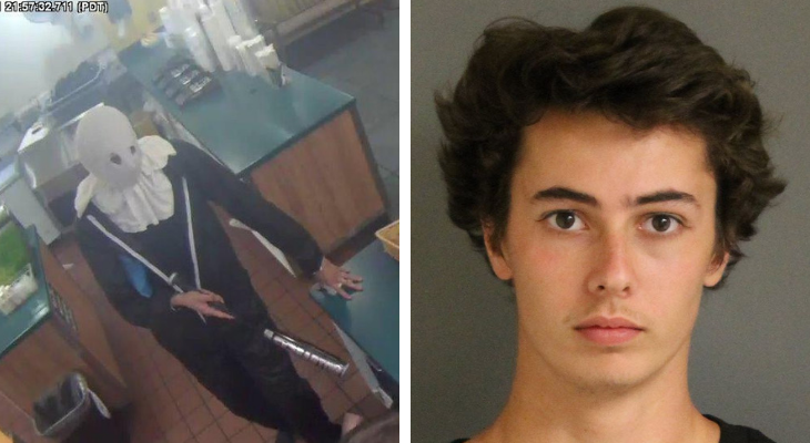 Local Teen Admits to Being a Serial Robber