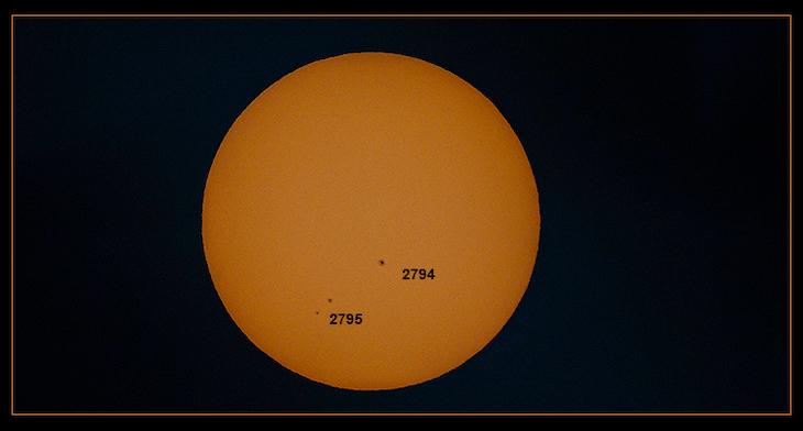 Sunspot Activity Finally Perking Up