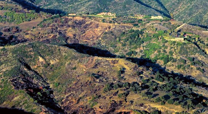 Cave Burn Area