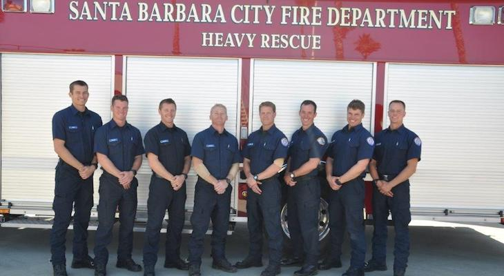 Eight New Firefighters Graduate to Local Departments title=