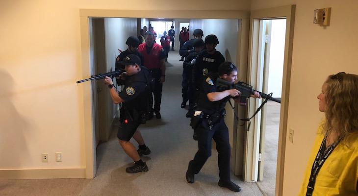 Active Shooter Training at Santa Barbara Airport title=