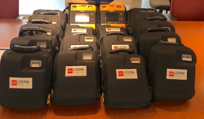 Santa Barbara City Fire Acquires New Defibrillators title=