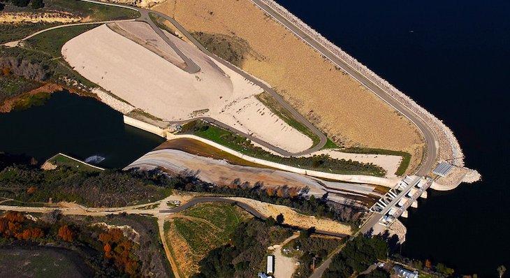 Aerial View of the Bradbury Dam (Photo: John Wiley) title=