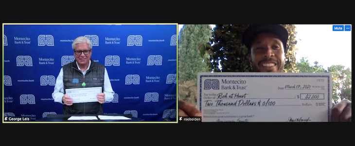 Montecito Bank & Trust Holds Virtual Anniversary Grants Reception to Honor Nonprofits