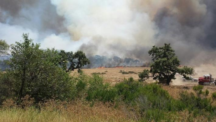 Alamo Fire Now 95% Contained