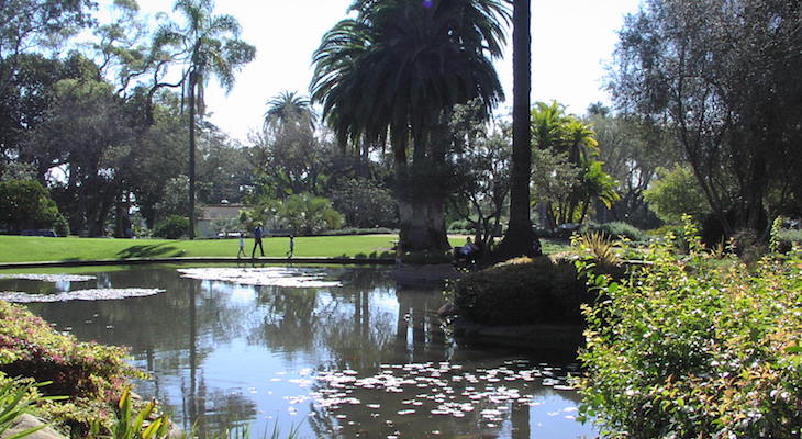 Maintenance Project Extended for Pond at Alice Keck Park Memorial Gardens title=
