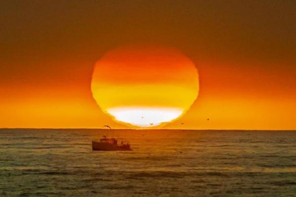 Alisal Fire Sunset