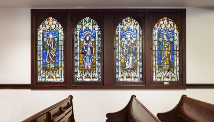 Completed Renovation of Historic All Saints-By-The-Sea Church