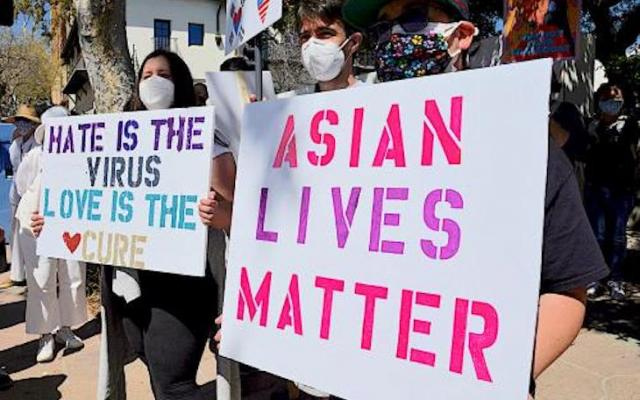 Vigil in Solidarity Against AAPI Hate