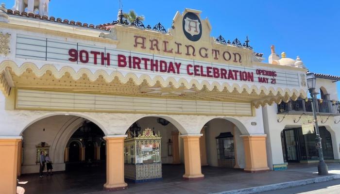 Arlington Theatre Celebrates 90th Birthday title=