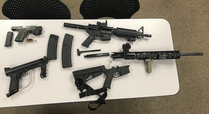 Suspects Arrested for Weapons Violations, Child Endangerment and Robbery