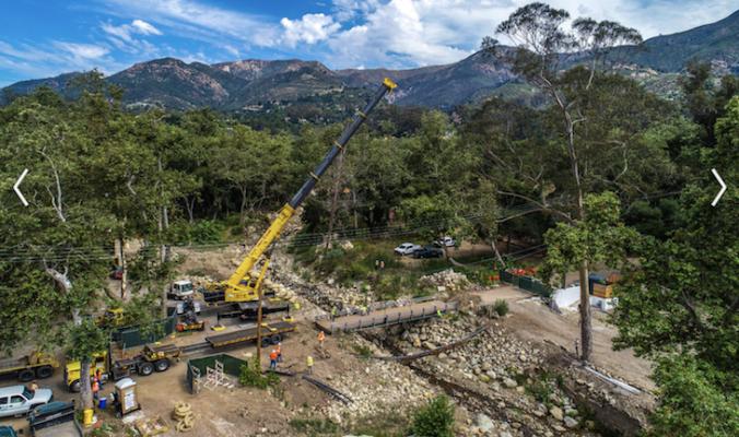 Construction Begins on Ashley Road Bridge title=