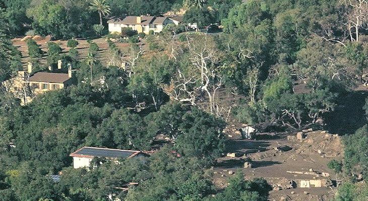San Ysidro Creek Aerials