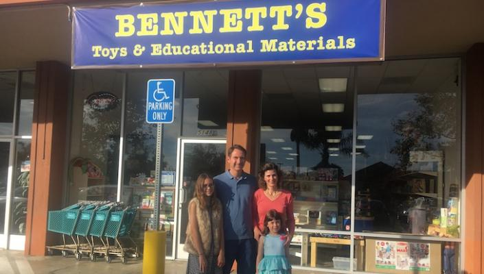 Bennett's Saved by Local Family title=