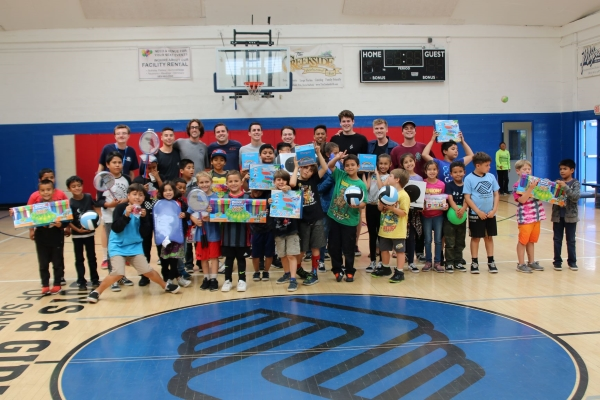 """UCSB's """"Greeks4Kids"""" Makes a Difference for The Boys & Girls Club of Santa Barbara, Inc."""