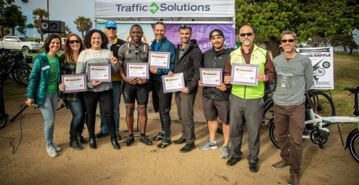 Impressive Miles Traveled at Annual Bike Challenge Awards Ceremony