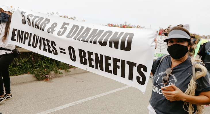 Employees Protest Biltmore (Photo: Brooke Daniels / Tangels Photography)