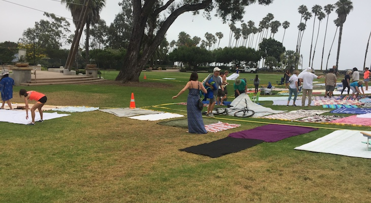 The Laying Down of Blankets: Where Santa Barbara Civility Goes to Die title=