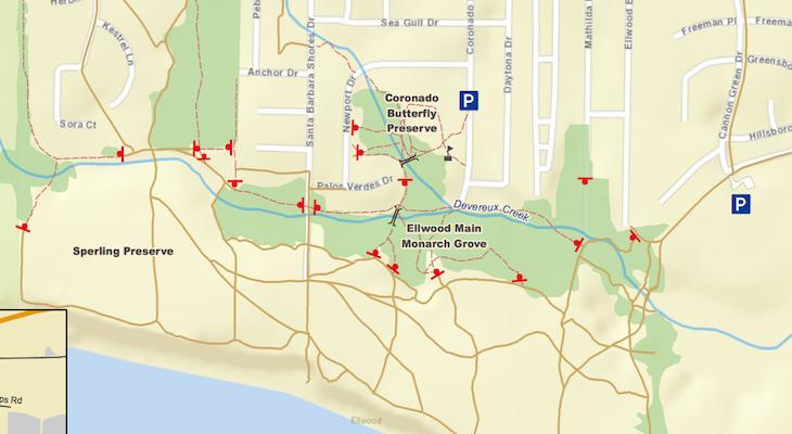 Goleta Provides Update on Closed Ellwood Mesa Trails title=