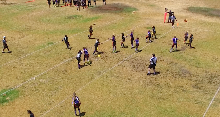 Blondes vs. Brunettes Flag Football Highlight Reel
