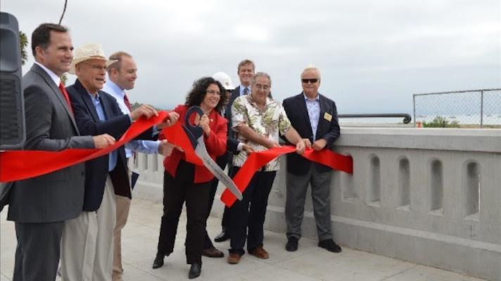 Cabrillo Bridge Project Completed title=