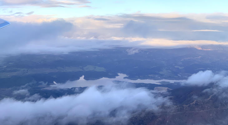 Aerial Views of Lake Cachuma