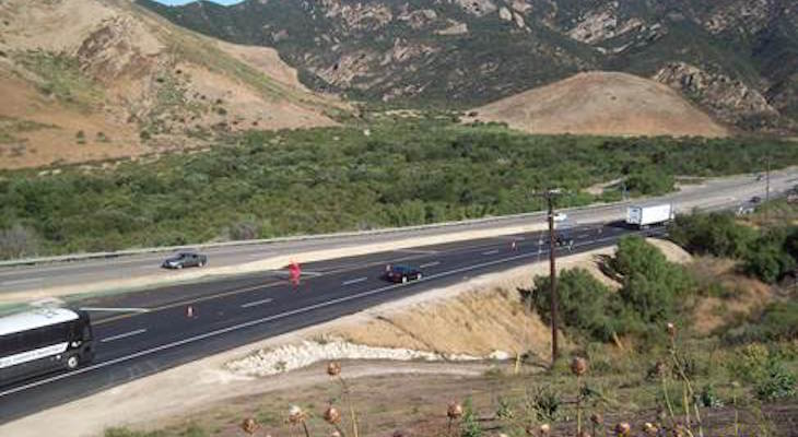 U.S. HIGHWAY 101 GAVIOTA CURVES PROJECT COMPLETED