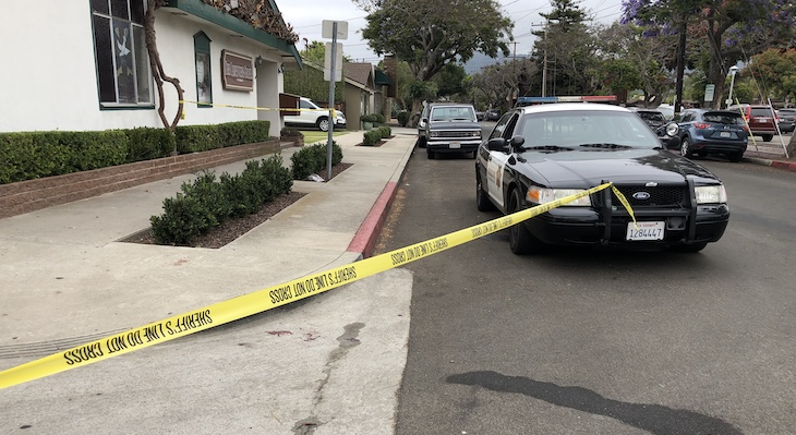 Stabbing in Carpinteria?