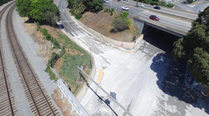 Castillo Underpass Now Open