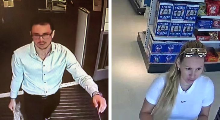 Santa Barbara Police Search for Two Theft Suspects