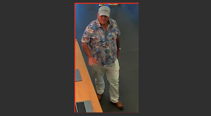 Do You Recognize This Alleged Thief?