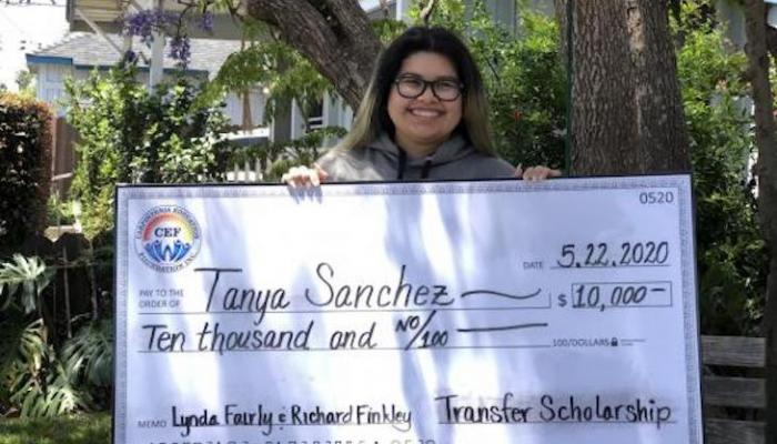 Carpinteria Education Foundation CHS Senior with $10,000 Scholarship title=