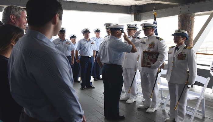 New commanding officer of Coast Guard Cutter in Santa Barbara