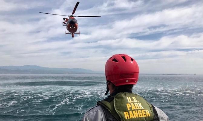 Coast Guard Medically Evacuates 8-Year-Old from Santa Cruz Island