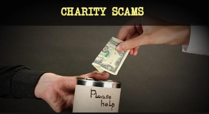 Look Out for Charity Scams title=