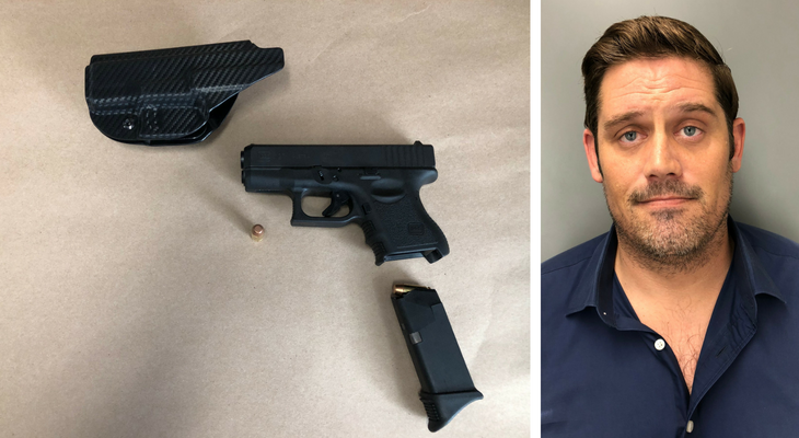 Man Arrested for Pointing Loaded Gun at Motorist