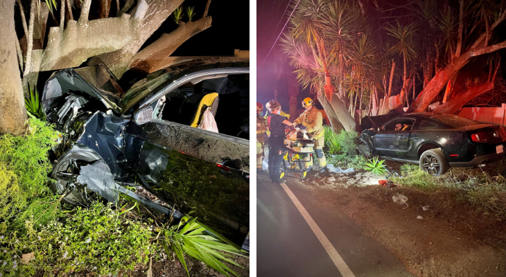 Four Injured in DUI Collision on Cliff Drive