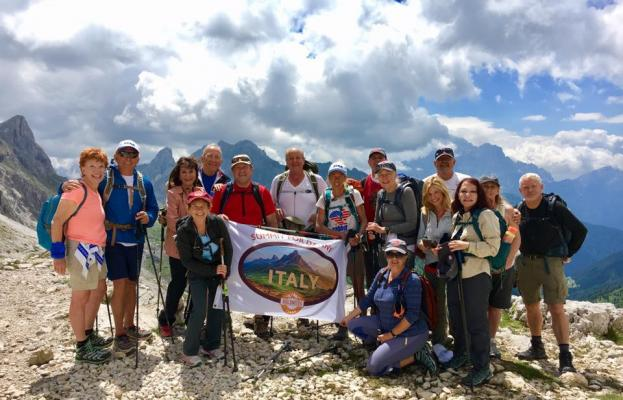 Chairman and CEO of Local Bank is Among Group Hiking Abroad  To Help Santa Barbara Teens in Recovery .
