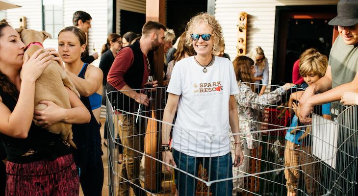 Event Highlight: Wine & Woofs Adoption Event