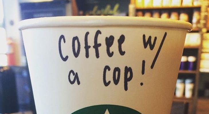 Enjoy Coffee with a Cop in Isla Vista Today title=